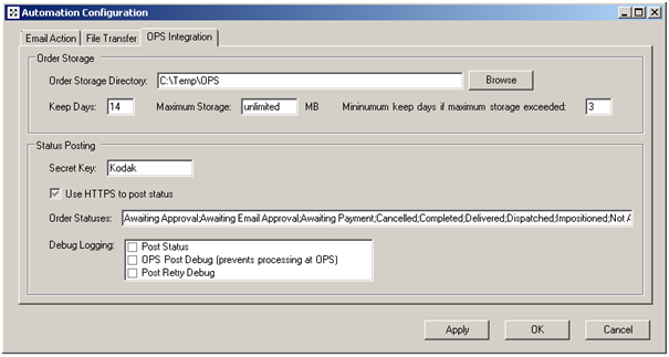 Configuring the OPS Data Model - Prinergy System Administration